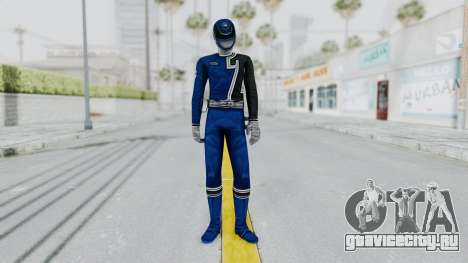 Power Rangers S.P.D - Blue для GTA San Andreas второй скриншот