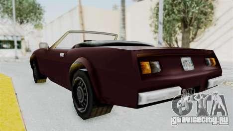 GTA VC Stinger для GTA San Andreas вид слева