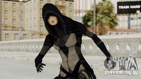 Mass Effect 2 Kasumi Black для GTA San Andreas