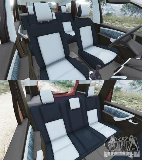Dacia Duster 2014 для GTA 5 вид справа