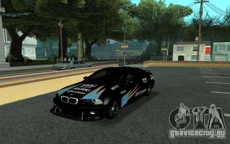 BMW M3 E46 Tunable для GTA San Andreas вид сбоку