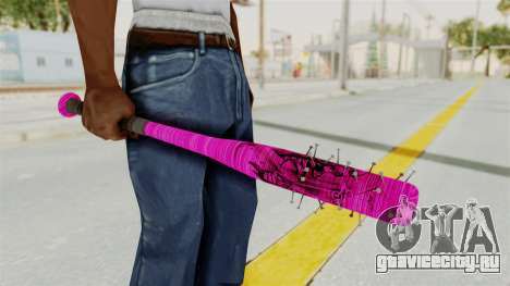Nail Baseball Bat v4 для GTA San Andreas второй скриншот