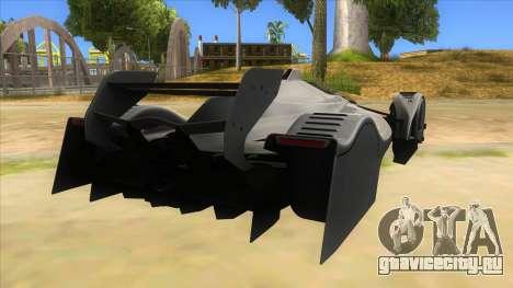 RedBull X2010 для GTA San Andreas вид справа