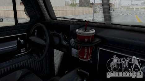 GTA 5 Bravado Duneloader Cleaner IVF для GTA San Andreas вид изнутри
