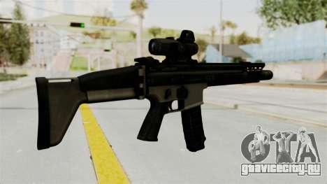 SCAR MK16 для GTA San Andreas второй скриншот