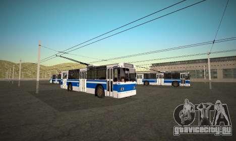 ЗиУ-9 для GTA San Andreas вид слева