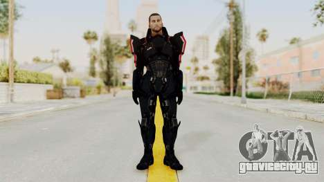 Mass Effect 3 Shepard N7 Destroyer Armor для GTA San Andreas второй скриншот