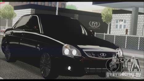 Lada Priora Sedan для GTA San Andreas вид сбоку