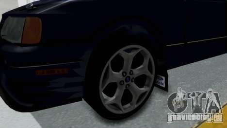 Ford Sierra Turnier 4x4 Saphirre Cosworth для GTA San Andreas вид сзади