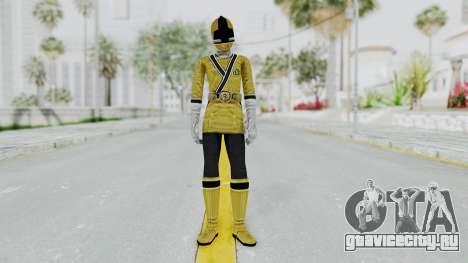 Power Rangers Samurai - Yellow для GTA San Andreas второй скриншот