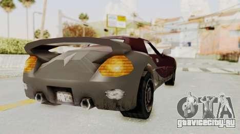 GTA 3 Yakuza Stinger для GTA San Andreas вид справа