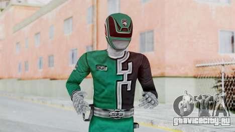 Power Rangers RPM - Green для GTA San Andreas