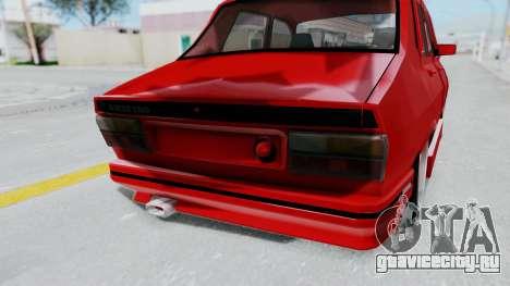 Dacia 1310 Tuning для GTA San Andreas вид сзади