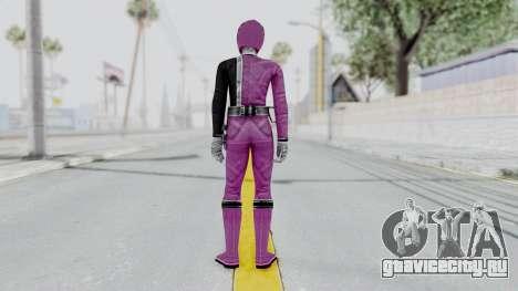 Power Rangers S.P.D - Pink для GTA San Andreas третий скриншот