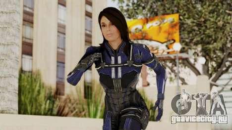 Mass Effect 3 Ashley Williams Ashes DLC Armor для GTA San Andreas