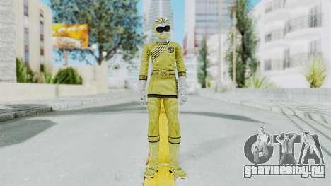 Power Rangers Wild Force - Yellow для GTA San Andreas второй скриншот