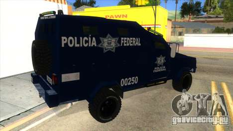Black Scorpion Police для GTA San Andreas вид справа