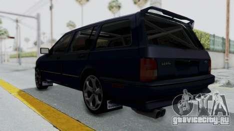 Ford Sierra Turnier 4x4 Saphirre Cosworth для GTA San Andreas вид справа