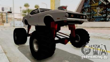 Ford Mustang 1971 Monster Truck для GTA San Andreas вид справа