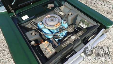 Ford Fairlane 500 1966 для GTA 5 вид спереди справа