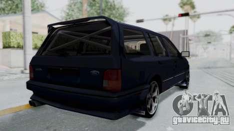 Ford Sierra Turnier 4x4 Saphirre Cosworth для GTA San Andreas вид слева