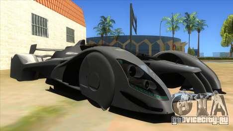 RedBull X2010 для GTA San Andreas вид сзади