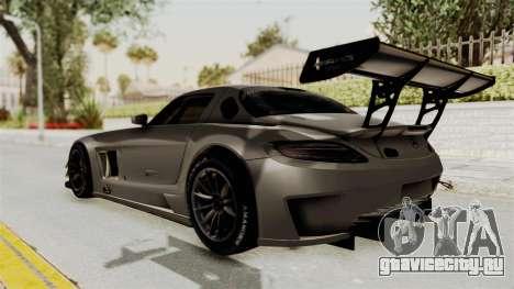 Mercedes-Benz SLS AMG GT3 PJ4 для GTA San Andreas вид слева