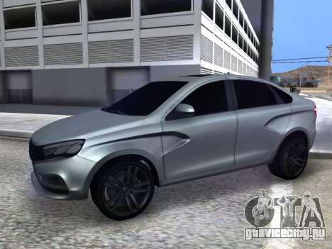 Lada Vesta HD (beta) для GTA San Andreas