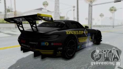 Mercedes-Benz SLS AMG GT3 PJ7 для GTA San Andreas колёса