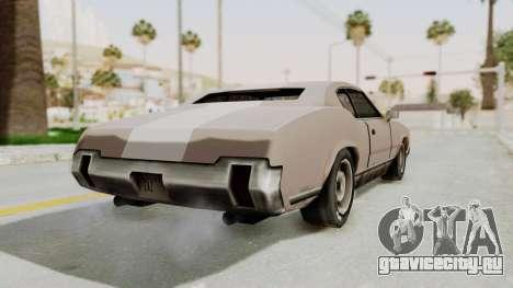 GTA Vice City - Sabre Turbo (Sprayable) для GTA San Andreas вид слева