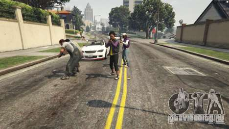 More crime mod 1.1a для GTA 5 пятый скриншот