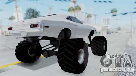 Ford Gran Torino 1972 Monster Truck для GTA San Andreas вид справа