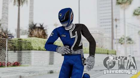Power Rangers S.P.D - Blue для GTA San Andreas