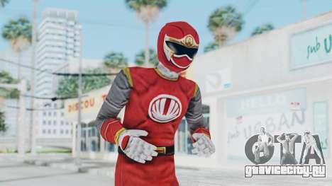 Power Rangers Ninja Storm - Red для GTA San Andreas