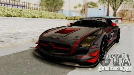 Mercedes-Benz SLS AMG GT3 PJ4 для GTA San Andreas двигатель