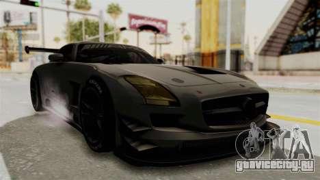 Mercedes-Benz SLS AMG GT3 PJ4 для GTA San Andreas вид справа