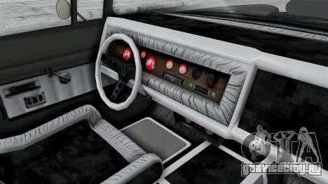 GTA 5 Declasse Tornado Hifi and Hydro IVF для GTA San Andreas вид изнутри