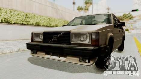 Volvo 740 для GTA San Andreas вид справа