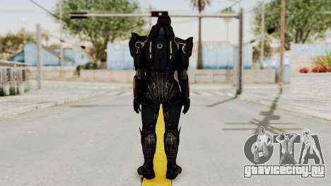 Mass Effect 3 Shepard N7 Destroyer Armor для GTA San Andreas третий скриншот