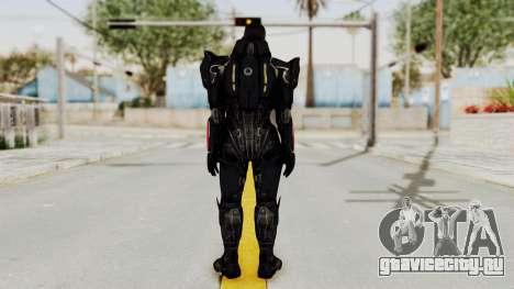 Mass Effect 3 Shepard N7 Destroyer Armor для GTA San Andreas третий скриншот