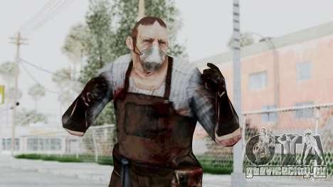 Manhunt 2 - Janitor для GTA San Andreas