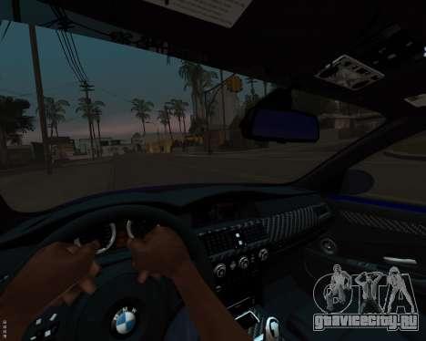 BMW M5 E60 v1.0 для GTA San Andreas вид сверху