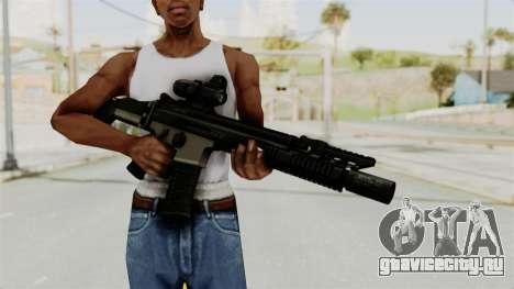 SCAR MK16 для GTA San Andreas третий скриншот