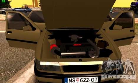 Opel Vectra A для GTA San Andreas вид сзади