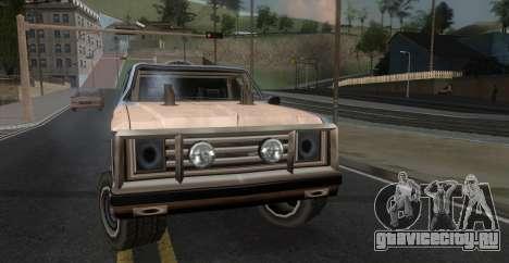 Derby Rancher для GTA San Andreas вид сзади слева