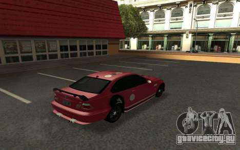 BMW M3 E46 Tunable для GTA San Andreas вид справа