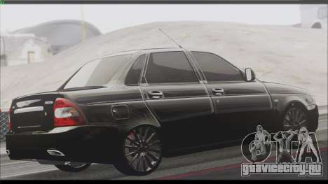 Lada Priora Sedan для GTA San Andreas вид сзади