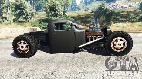 Dumont Type 47 Rat Rod для GTA 5 вид слева