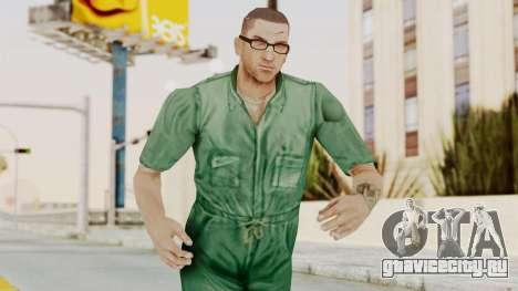 Manhunt 2 - Danny Prison Outfit для GTA San Andreas