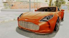 Aston Martin One-77 2010 Autovista Interior для GTA San Andreas